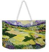 Cool Grass Weekender Tote Bag