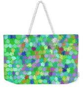 Cool Green Splash Art Weekender Tote Bag