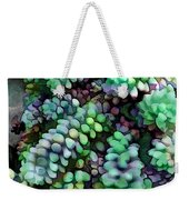 Cool Hued Burro's Tails In The Hot Desert Weekender Tote Bag