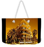 Cool Iron Building In Miami Weekender Tote Bag