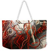 Cool Jazz 2 Weekender Tote Bag