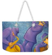 Cool Jazz Trio Weekender Tote Bag