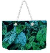 Cool Leafy Green Weekender Tote Bag