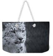 Cool Leopard Weekender Tote Bag