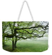 Cool Misty Day At Blackbury Camp Weekender Tote Bag