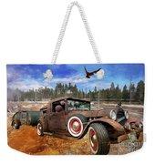 Cool Rusty Classic Ride Weekender Tote Bag