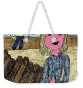 Cooler Weather Cooler Days Weekender Tote Bag