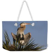 Great Blue Heron Air Conditioning Weekender Tote Bag