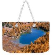 Cooney Lake Larches Weekender Tote Bag