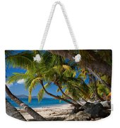 Cooper Island Weekender Tote Bag by Adam Romanowicz
