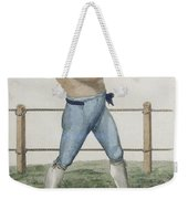 Cooper The Gipsy, Engraved By P Weekender Tote Bag