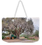 Coosaw Cross Roads With Live Oak Weekender Tote Bag