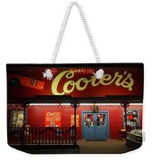 Cooters At Christmas Weekender Tote Bag by Dan Sproul
