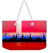 Copenhagen City Weekender Tote Bag
