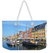 Copenhagen Denmark Nyhavn District Weekender Tote Bag