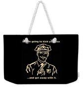 Copkickingass Sepia Weekender Tote Bag