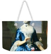 Copley's Anne Fairchild Bowler -- Mrs. Metcalf Bowler Weekender Tote Bag