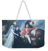 Copley's Colonel William Fitch And His Sisters Sarah And Ann Fitch Weekender Tote Bag