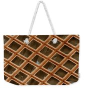 Copper Electron Micrograph Grid Weekender Tote Bag