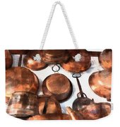 Copper - Featured In Inanimate Objects Group Weekender Tote Bag