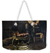 Copper Teapot Weekender Tote Bag by Debra and Dave Vanderlaan