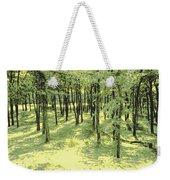 Copse Of Trees Sunlight Weekender Tote Bag