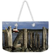 Coquille Lighthouse Oregon 3 Weekender Tote Bag