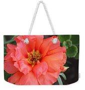 Coral Desert Rose Weekender Tote Bag