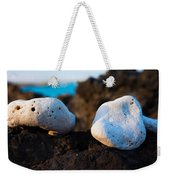 Coral Friends Weekender Tote Bag
