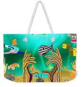 Coral Hands Weekender Tote Bag