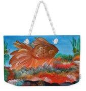 Coral Land Goldfish Weekender Tote Bag