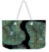 Coral Puzzle Weekender Tote Bag