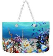 Coral Reef Blues  Weekender Tote Bag