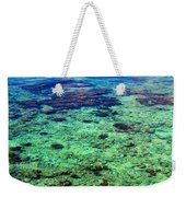 Coral Reef Near The Island At Peaceful Day. Maldives Weekender Tote Bag