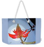 Coral Tree Weekender Tote Bag by Ben and Raisa Gertsberg
