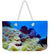 Corals Underwater Weekender Tote Bag