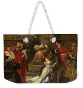 Cordelia In The Court Of King Lear, 1873 Weekender Tote Bag