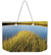 Cordgrass And Marsh, Southern Weekender Tote Bag