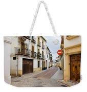 Cordoba Old Town Houses Weekender Tote Bag