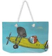Corgi Aviator Weekender Tote Bag