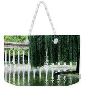 Corinthian Colonnade And Pond Weekender Tote Bag