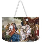 Coriolanus And His Mother Volumnia Weekender Tote Bag