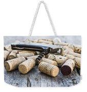 Corks With Corkscrew Weekender Tote Bag