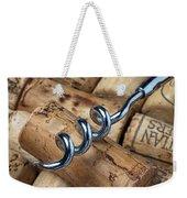 Corkscrew On Corks Weekender Tote Bag by Garry Gay