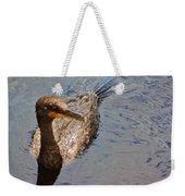 Cormorant After A Swim Weekender Tote Bag