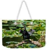 Cormorant And Turtle Weekender Tote Bag