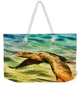Cormorant On The Move Weekender Tote Bag