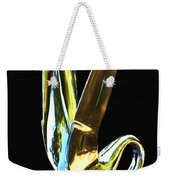 Cormorant Ornament Weekender Tote Bag by Jean Noren