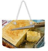 Corn Bread Weekender Tote Bag