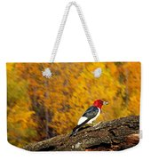 Corn Fed Woodpecker Weekender Tote Bag